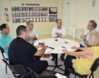 Alceu Moreira se reúne com o conselho do Hospital São Vicente de Paulo em Osório
