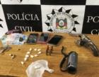 Homem atira em policiais para tentar escapar da prisão em São José do Norte