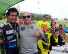 Atleta Arquimedes Bonilha compete no Desafio dos Ventos de Mountain Bike em Osório