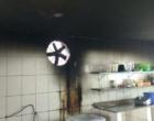 Fogo atinge restaurante em Tramandaí
