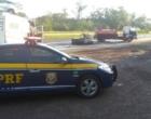 Motorista morre após carro pegar fogo em colisão com caminhão na freeway
