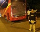 Motorista de ônibus é flagrado no bafômetro e passageiros tem de aguardar outro condutor em Osório