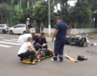 Motociclista fica ferido em mais um acidente de trânsito em Osório