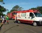 Ciclista fica gravemente ferido ao ser atingido por caminhão em Osório