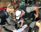 Operação localiza esconderijo de armas que teriam sido utilizadas em homicídios em Torres