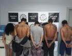 Criminosos ligados a facção criminosa da capital são presos no Litoral