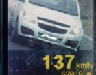 Veículo é flagrado a 137 km/h na RSC-101