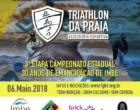 Trãnsito de Imbé tem alterações devido a etapa do Campeonato Estadual de Triathlon