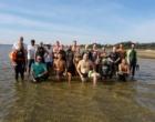 Lagoa do Bacupari recebe nadadores e triatletas para treino especial