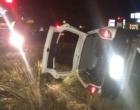Motorista fica preso nas ferragens em acidente na Interpraias