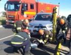 Motociclista fica ferida em colisão com veículo em Osório