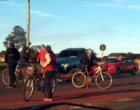Ciclista fica ferida após ser atingida por veículo em Osório
