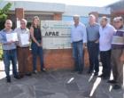 Alceu Moreira garante mais de R$ 1 milhão para as APAEs do Litoral Norte