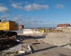Inicia retirada de quiosques na beira mar de Tramandaí