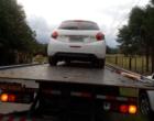 Brigada Militar recupera carro roubado em Osório
