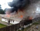 Incêndio atinge Penitenciária Modulada de Osório