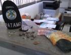 Adolescente é flagrado com droga pronta para a venda em B. Pinhal