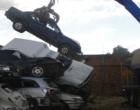 DetranRS recicla 240 sucatas de veículos em Santo Antônio da Patrulha