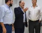 Alceu Moreira e Gabriel Souza comemoram repasse de R$ 2,6 milhões para escolas do litoral