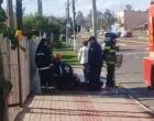 Acidente envolvendo moto e bicicleta deixa uma pessoa ferida em Osório