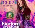 Isadora Matos  e chopp em dobro a noite toda, nesta sexta, no Boteco Poko Bom em Osório