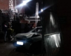 Após ser expulso de festa, homem derruba parede de salão com carro e deixa mulher ferida em SAP