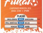 Campeonato de Futsal de Osório realizou 6ª rodada: veja resultados