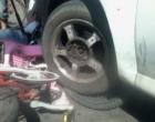 Ciclista fica ferida em colisão envolvendo veículo em Osório