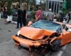 Vídeo: veja momento do acidente envolvendo Lamborghini avaliada em mais de R$ 700 mil