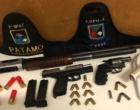 Preso chefe do tráfico que intimidava moradores com armas em Arroio do Sal