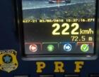 PRF flagra mais de 1600 veículos acima da velocidade na Freeway
