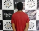 Preso no Litoral acusado de matar com tiro para o alto durante comemoração no Natal