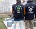 Estabelecimento de venda de gás é interditado durante ação em Tramandaí
