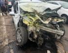Colisão deixa feridos na Estrada do Mar em Osório