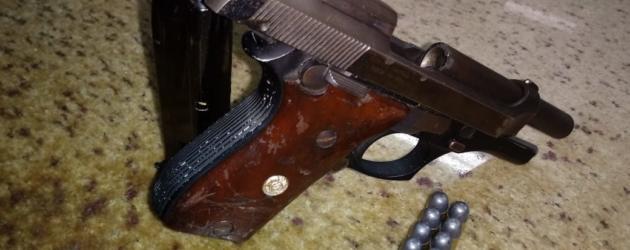 Atlântida: homem é preso com arma, após brigar em festa na área central da cidade