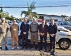 Judiciário doa viatura e coletes para BM de Capão da Canoa