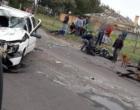 Grave acidente envolve carro e carroça na Avenida Paraguassú