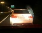 PRF apreende veículo que participou de racha a 220km/h na Freeway