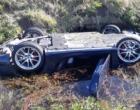 Porsche avaliado em quase R$ 300 mil capota em Osório