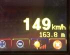 Carro é flagrado trafegando a 149 km/h na RS-040