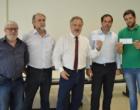 Prefeito Eduardo Abrahão entrega recurso para o Hospital São Vicente de Paulo em Osório