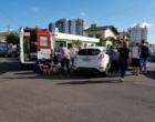 Colisão entre veículos deixa mulher ferida no centro de Osório