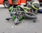 Motociclista tem ferimentos graves após colisão com veículo em Osório