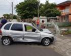 Colisão entre veículos deixa motorista ferido em Osório