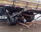 Colisão envolve carro e caminhão em Osório