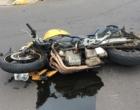 Motociclista fica ferido em mais um acidente de trânsito na cidade de Osório