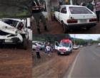 Criminosos furtam carro e se envolvem em acidente na ERS-030