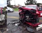 Grave acidente deixa três feridos na ERS-040