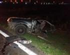 Cinco pessoas ficam feridas em acidente na Estrada do Mar