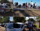 Feriado leva centenas de pessoas ao morro da Borússia, causando tranqueiras no trânsito